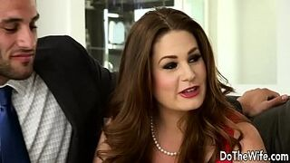 Horny Swinger Allision Moore Is Banged by a Long Dicked Boy While Another Couple