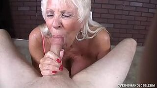 Mother In Law Mother Likes His Enormous Load In Her Mouth