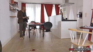 Glamcore euro maid Crooked over and humped