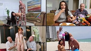 BLUE PILL FELLAS - Old Dudes Fucking Lovely Teens, Featuring Kharlie Stone, Dolly Small Size & More!