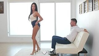 PureMature Big Tits mother Anissa Kate anus humped by energetic young lady man meat