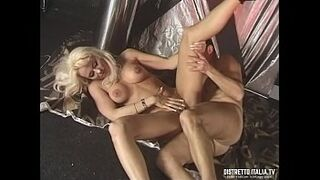 BDSM whipping, pissing and cute wax at the swinger club