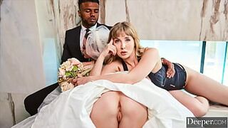 Deeper. Laney & Troy have intense sex in three with Lena Paul