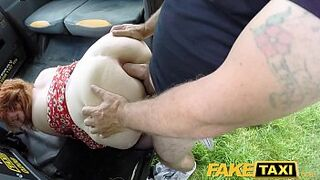 Fake Taxi Redhead man meat monster deepthroats and asshole