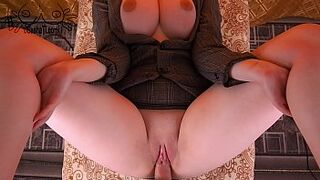 REAL!! Huge Bobbies Secretary Strong Fucking with Childlike Boss and Seed on Pinky Peach
