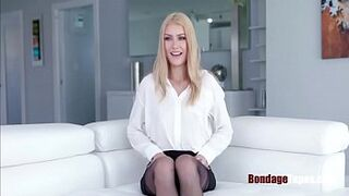 Blondie didn't inquire of an interview to get so sexual