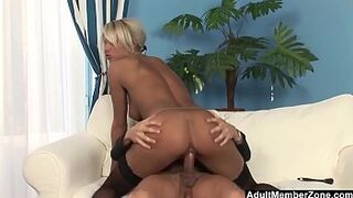 Cleaning Up The House And Her Masters Cock