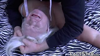 Big Tits GILF Lacey Starr dominated with thug penis and sperm makeover