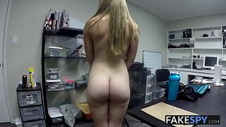 Lustful adolescent came interviewed for a job and screwed in POV