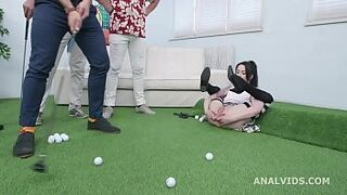Anus Prowess, Anna de Ville deviant evolution with Balls Deep Butthole, DAP, Gapes, Buttrose and Taking It All In GIO1463