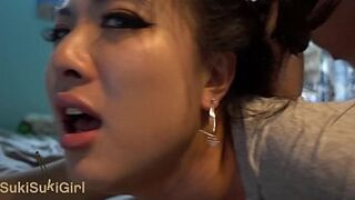 @Andregotbars beauty queen Chinese Woman MOANING will make you SPERM