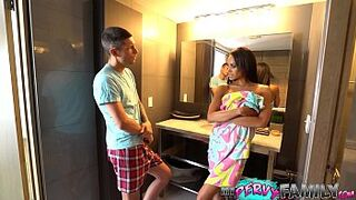 Lying Mother In Law Almost Caught With Step Son (Part one) - Gia Vendetti -