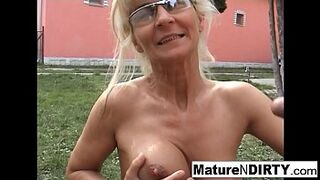 Stepmom light-colored bitch receives an butthole fucking