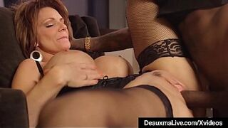 Beautiful Milf Cougar Deauxma Gets Drilled By A Enormous Inky Penis!