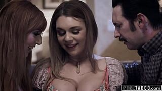 PURE TABOO Babysitter Gabbie Carter Agrees To Sex In Three With Kinky Couple