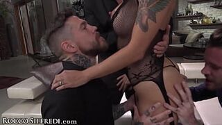 Slutty Malena Nazionale Has The Butthole Gangbang Of Her Life