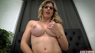 Alone in a Hotel Room with my Big Tits Step Mother In Law and She fancy Anus - Cory Chase
