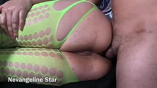 Training my booty with his penis