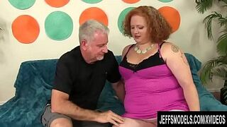 Round Red Hair Scarlett Raven Has Her Mouth and Vagina Drilled by a Thick Dick
