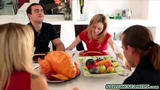 Small Size babe daughter in law seduces her confused stepbrother