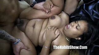mixed thick phat pinky peach rican and dominican gangbang dominican massive black cocks