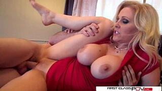 Julia's husband luvs watching her getting pounded by other fellas
