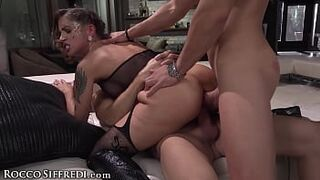 Rocco Siffredi's Roughly Gangbanged Honey MILFs COMPILATION