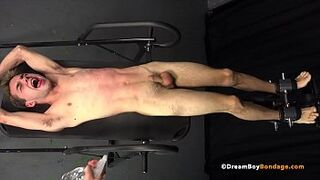 DADDY MAKES JUVENILE BOUND GIRL LAD SPERM four TIMES WHILE WHIPPED & b. - BDSM Homosexual Bondage