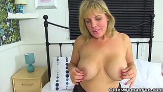 English mom Danielle is ready for naughtiness
