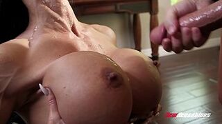 Mommy Jewels Jade Fucking Her Hung Stepson