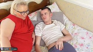 AgedLove mother in law BBW Lexie screwed by Sam Bourne