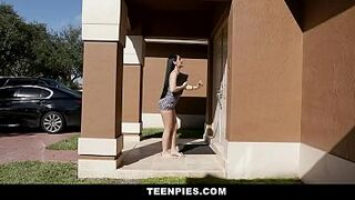 TeenPies - Honey Bust A Load For Amazing Latin Eighteen Years Old Jessica Jewels