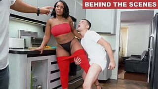 BANGBROS - Brown Bunnies Behind The Scenes With Mimi Curvaceous