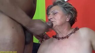 first multiracial for ugly 82 years old nanny