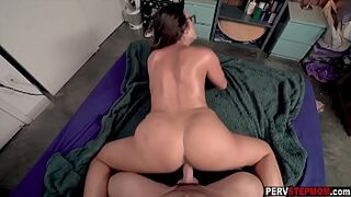 mom mother knows what is best for her sexy stepson