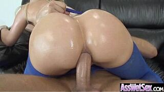 Asshole Deep Heavy Nailed A Enormous Round Big Butt Oiled Teen (anikka albrite) video-03