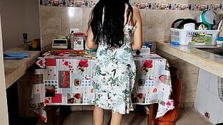 My Housewife Mom Cooking Can't Resist When I Try To Bang Her With My Giant Penis - My Daddy's Adorable New Childlike Matron Screams Like A Whore