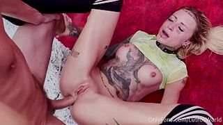 Crazy Stepdaughter Fisted Her Bum While Giving Me A Taking It All In Oral - Sasha Beart