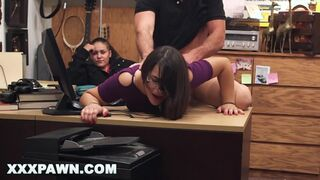 XXX PAWN - Fucking Prostitute Doggy Style in back of Pawn Shop