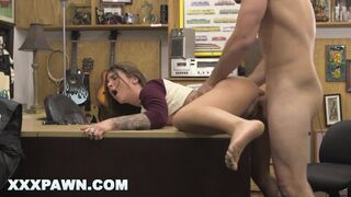 XXXPAWN - Felicity Feline needs Cash Quick, so she goes to a Pawn Shop