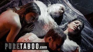 PURE TABOO Alien Abducted Couples must Perform Live Sex Act Shows