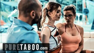 PURE TABOO Cheerleader Coerced into Sexual Intercourse with Coach & her Husband