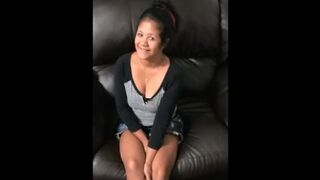 Mother Chesty Latina Maid, Screw with Boss. Anus. Job Interview