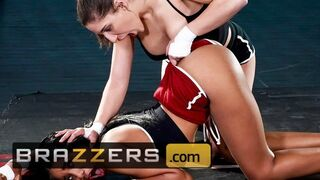 Brazzers - Flexible Fighter Abella Danger Gets her Butt Licked by Jenna Foxx