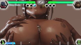 Macro Fighting Game Finisher Compilation (Not a Real Game) - Giantess, Furry