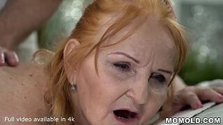 Grown-Up Horny GILF Marianne Drilled by Childlike Massage Therapist