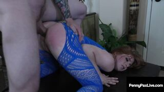 Beauty Queen Small Penny Pax Gets Small Size Chocolate StarFish Humped!