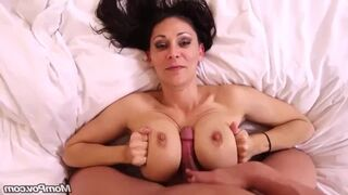 40 Year old Gabriella does Butthole on first Casting Video