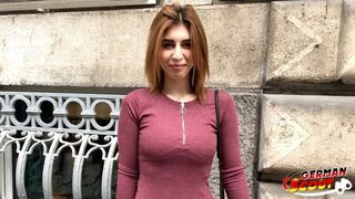 GERMAN SCOUT - HOT REDHEAD EIGHTEEN YEARS OLD TALK TO BANG AT STREET CASTING FOR MONEY