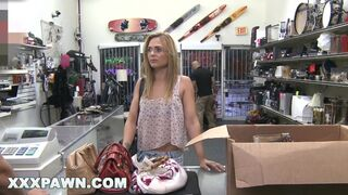 XXXPAWN - Eighteen Years Old down on her Luck Turns to Pawn Shop for help